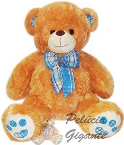 Urso com Laço Especial azul