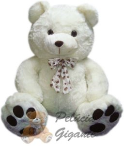 Urso Gigante com Laço de Patinhas