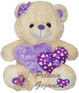 Urso e Coração Duplo Te Amo