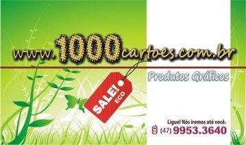 Cartões de Visita - ECO - 1.000 unds