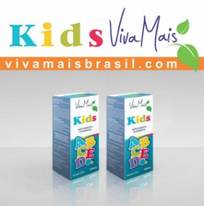 Viva Mais KIDS ABCDE 30 ml | Kit com 60 ml