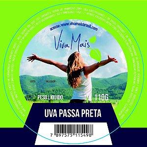 UVA PASSA PRETA | 110 GRAMAS