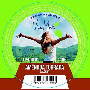 AMÊNDOA TORRADA SALGADA | 110 GRAMAS