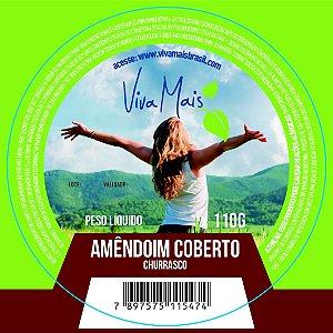 AMENDOIM COBERTO CHURRASCO | 110 GRAMAS