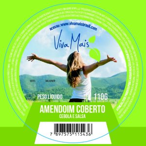 AMENDOIM COBERTO CEBOLA E SALSA | 110 GRAMAS