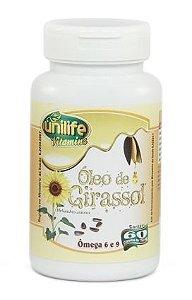 Óleo de Girassol 750mg - 60 cápsulas