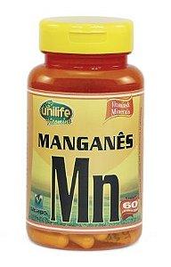 Manganês Quelato 60 cápsulas