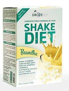Shake Diet Baunilha Com Whey e Colágeno - 400 Gramas