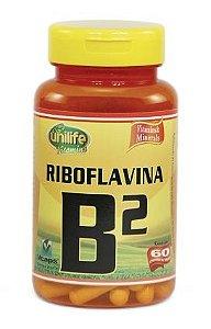 Vitamina B2 - 60 cápsulas