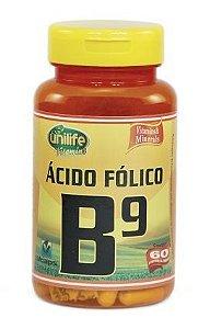 Vitamina B9 - 60 cápsulas