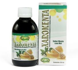 Xaromenta - Xarope Vitamínico Sabor Menta com Mel - 150 ml