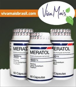 Meratol - Kit 3 Unidades - 180 Cápsulas.