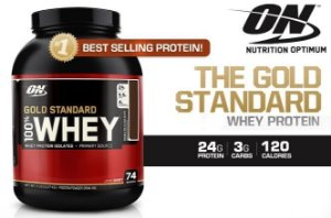 100% Whey Protein Gold Standard 2Lbs - Optimum Nutrition