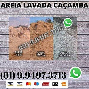 Areia Lavada Alvenaria 14 Metros