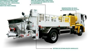 Locação de bomba estacionaria pra bombeamento de concreto usinado (Valor pra Recife e Região Metropolitana)