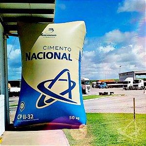 Cimento Nacional em Até 12 x no Cartão (entrega partir de 30 sacos) Itapissuma