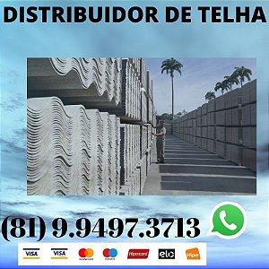 Telha ondulada Fibrocimento Eternit 2.44 x 1.10 (5mm) Jaboatão dos Guararapes