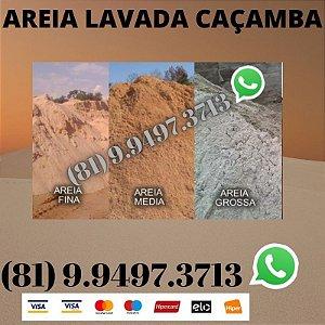 Areia Lavada direto do Areeiro Lagoa do itaenga