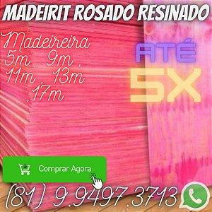 Madeirite resinado Rosado Direto da Madeireira Camaragibe  Pe