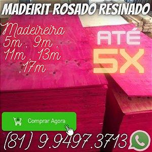 Madeirite resinado Rosado Direto da Madeireira
