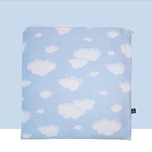 Porta-Jaleco® Standard Nuvens Azul