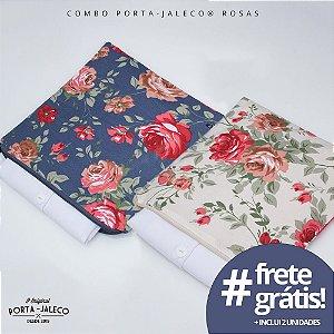 Combo Porta-Jalecos® Rosas & Rosas Noturnas (1 Rosas + 1 Rosas Noturnas + FRETE GRÁTIS)