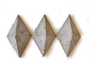 Revestimento sustentável  - Diamante - 24 peças - 10 cm x 18 cm