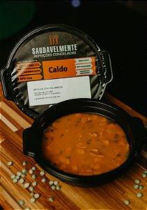 CALDO ERVILHA COM CALABRESA