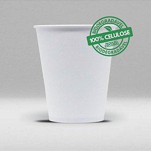 Copo de Papel Branco 100% Celulose, Biodegradável e Reciclável 200ml Caixa com 2500 Unidades