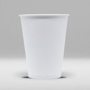 Copo de Papel Branco Biodegradável e Reciclável 440ml Caixa com 1000 Unidades