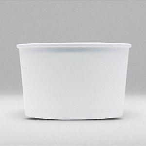 Pote de Papel Branco Biodegradável e Reciclável 120ml Caixa com 1000 Unidades