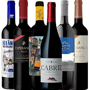 Kit 06 vinhos Portugueses