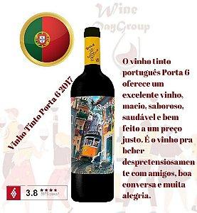 Kit 6 Vinhos Tinto Porta 6 2019