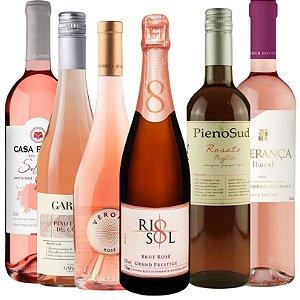 Kit 06 Vinhos Rosés Primavera