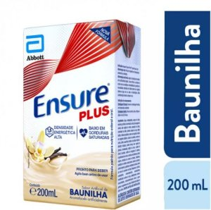 Ensure Plus 200ml - Sabor Baunilha