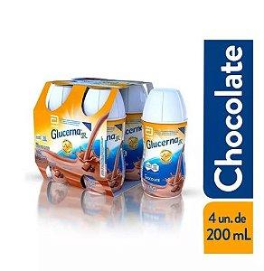 Glucerna Sr 200ml Kit c/ 4 unid - Sabor Chocolate