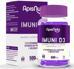 Imuni D3 60 cápsulas - 500mg