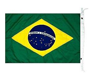 Bandeira Do Brasil P/ Lancha Barco - 22x33 Cm
