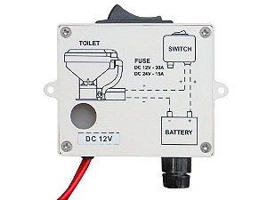 Caixa C Interruptor Para Vaso Eletrico