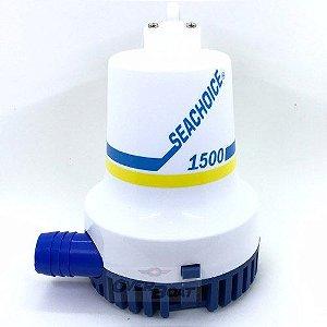 Bomba De Porão 1500 Gph Seachoice - Uso Náutico Lancha Barco