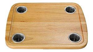 Tampo Mesa Náutica S/ Base Para Lancha Barco 45 x 58 cm