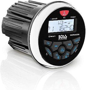Som Boss Marinizado Bluetooth Mp3 Usb Aux Mgr350b