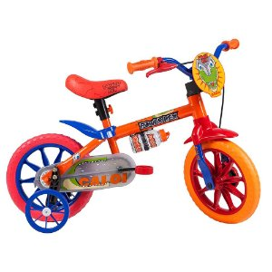 Bicicleta Nathor Aro 12 Infantil Power Rex