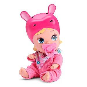 Boneca Bebê Little Dolls Soninho Rosa Faz Xixi Divertoys