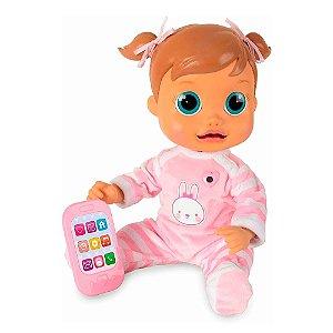 Boneca Baby Wow Malu Interativa Bebe Criança Multikids
