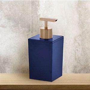 Porta Sabonete Líquido Multiuso Azul Paramount