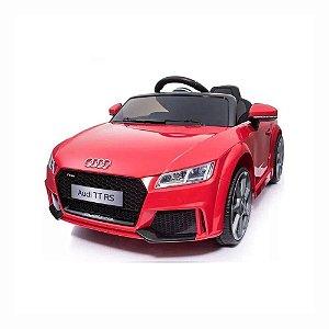 Carrinho Elétrico 12 Volts Audi Tt Vermelho Crianças Belfix