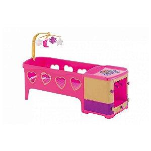 Berço Infantil Brinquedo Boneca Reborn Meg 8101 Magic Toys