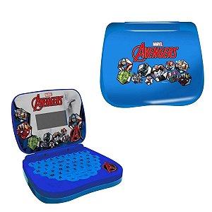 Laptop De Atividades Bilingue Infantil Avengers Candide
