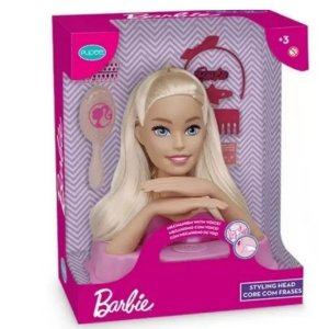 BARBIE STYLING HEAD FRASES PUPEE 1291